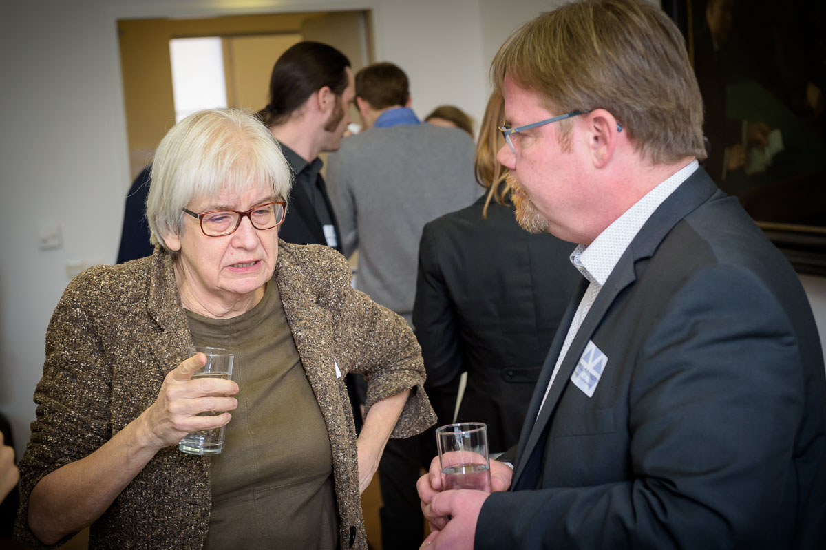 Prof Elisabeth De Vries and Prof Thomas L. Mindt