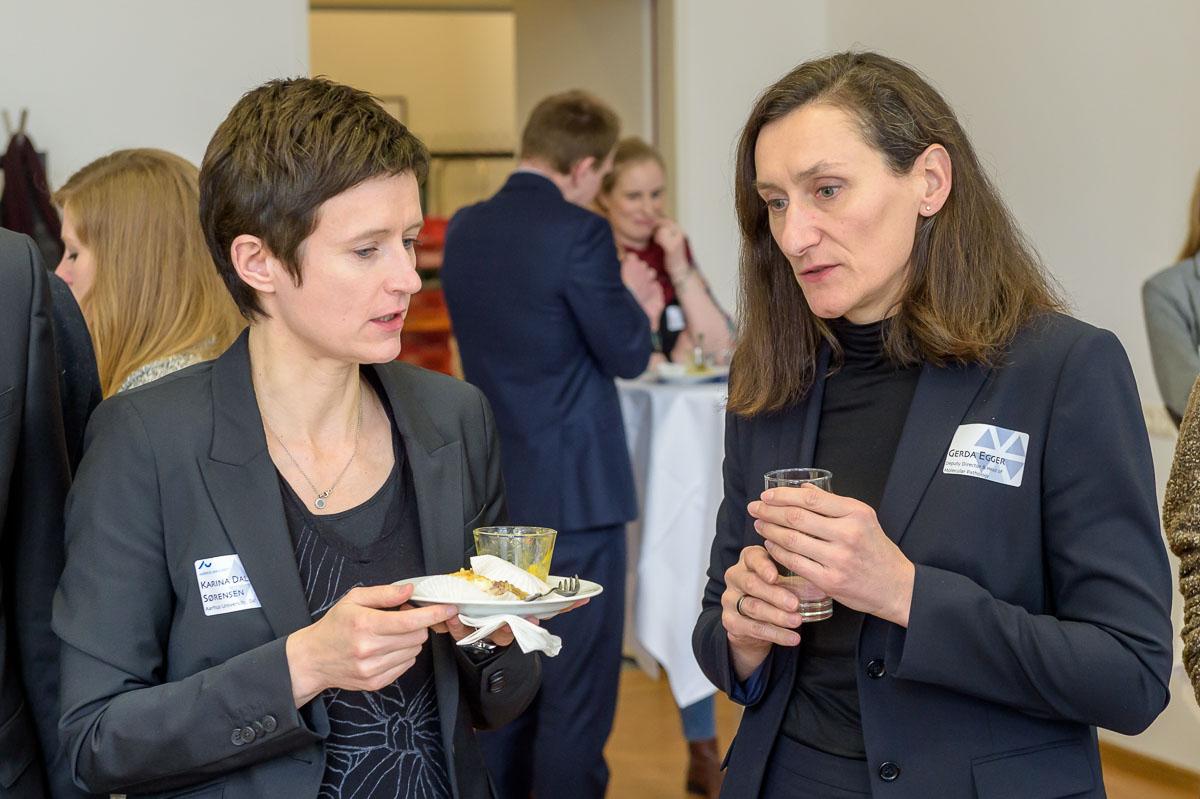Prof Karina Dalsgaard Sørensen, Prof Gerda Egger