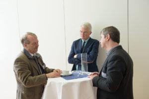 Prof Pius August Schubiger, Prof Johannes Czernin, Dr Peter Mayrhofer