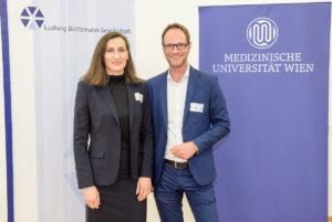 Deputy Gerda Egger and Director Markus Mitterhauser