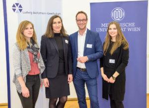 Tina Nehring, Gerda Egger, Markus Mitterhauser and Sanja Mijailovic