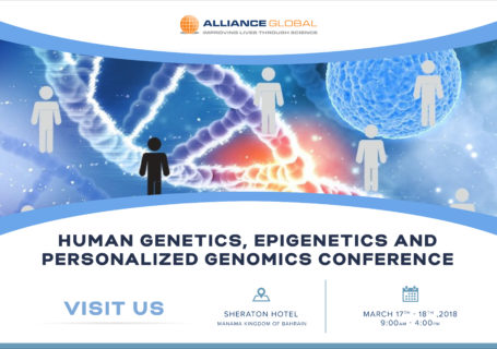 Epigenetics conference in Arabian Gulf University, Human Genetics, Personalized Genomics & Epigenetics Conference Bahrain