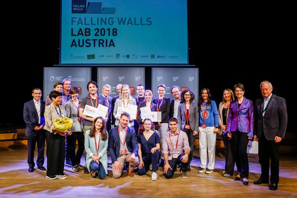 Falling Walls Lab Austria 2018