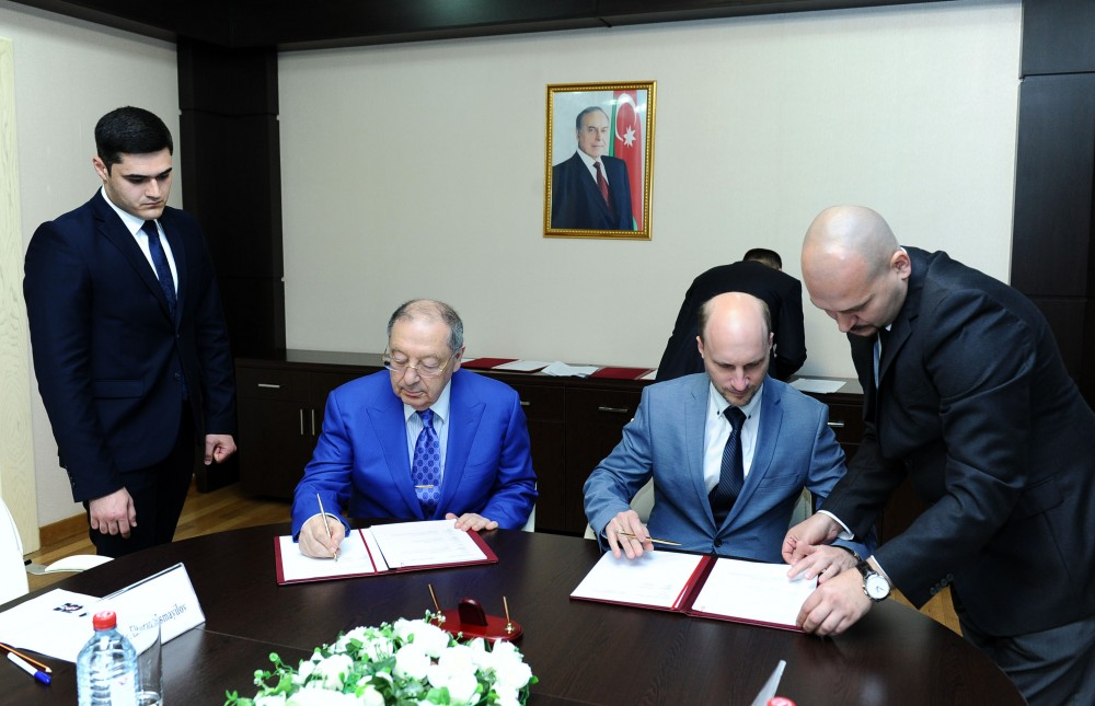 Scientific cooperation in Baku