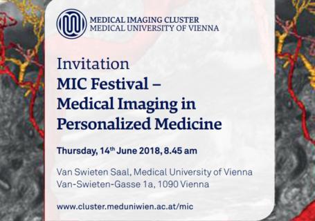 MIC Festival - Medizinische Bildgebung in der personalisierten Medizin
