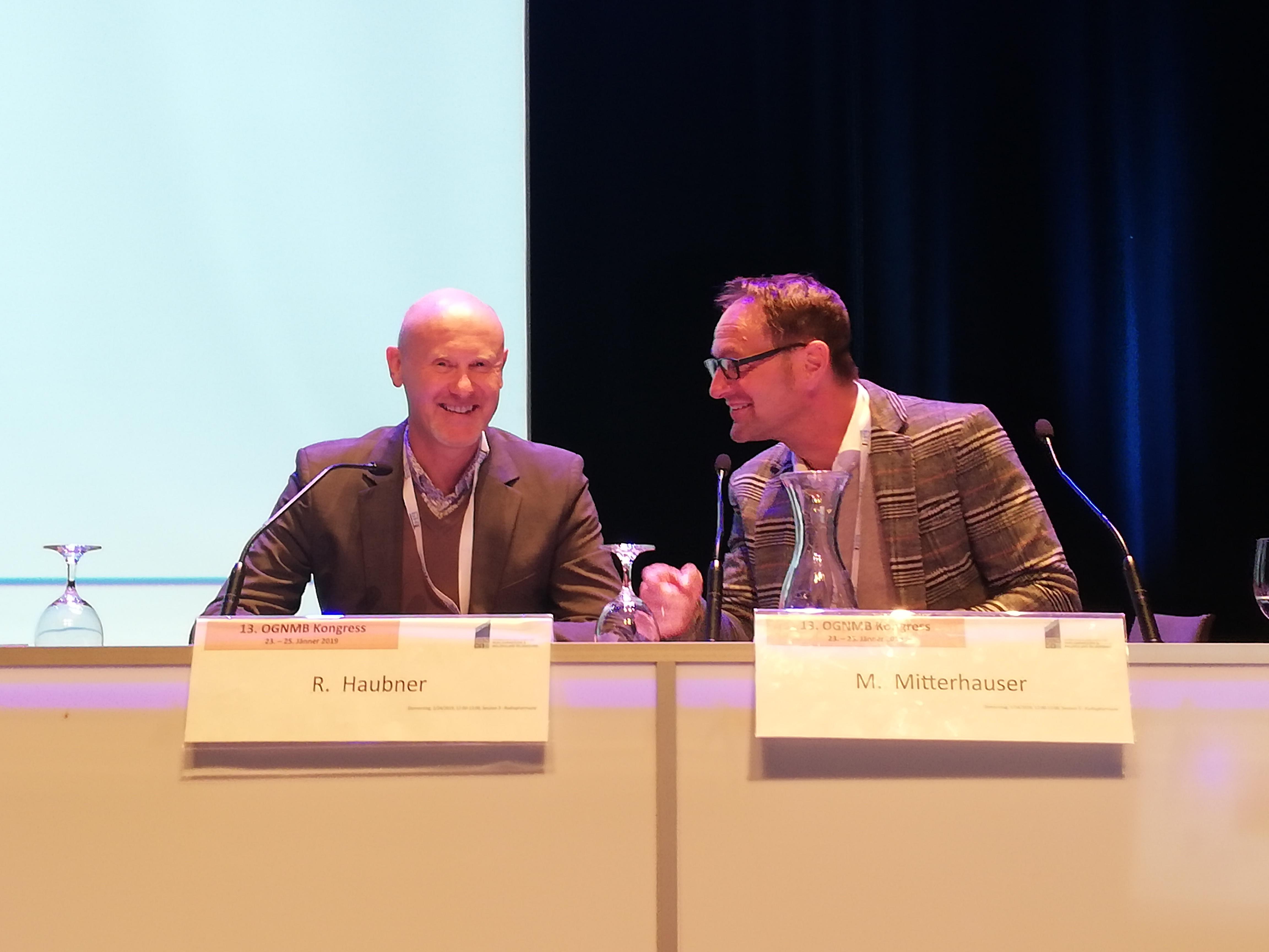 OGNMB Kongress, Roland Haubner, Markus Mitterhauser